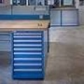 Lab Drawer cabinet with heavy duty work surface