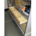 Laboratory Long Glass Storage Drawers
